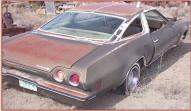 1973 Chevy Chevelle Laguna Colonnade 2 door hardtop right rear view