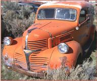 1946 Dodge Series WC 1/2 ton panel truck left front view