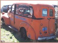 1946 Dodge Series WC 1/2 ton panel truck left rear view