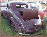 1937 Dodge D5 Five Window Rumble Seat Coupe left rear view
