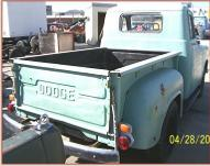 1954 Dodge Series C-1-B6 1/2 ton pickup truck right rear view