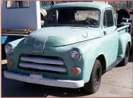 1954 Dodge Series C-1-B6 1/2 ton pickup truck left front view