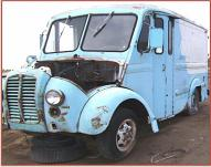 1963 DIVCO Model 374 dairy delivery van left front view