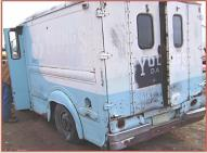 1963 DIVCO Model 374 dairy delivery van left rear view