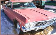 1965 Chevy Impala 2 door hardtop with later 350 CID V-8 right front view foir sale $4,000