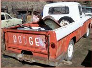 1960 Dodge Sweptline model P6 D100 2x4 1/2 ton pickup truck right rear view