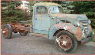 1942 DeSoto 1 1/2 Ton Truck with Right Drive right front view for sale $8,000