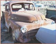 1952 Dodge B-3-B 5 Window 1/2 Ton Pickup right front view