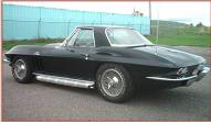 1966 Chevrolet Corvette Sting Ray roadster L-72 425 HP 4 speed left rear view