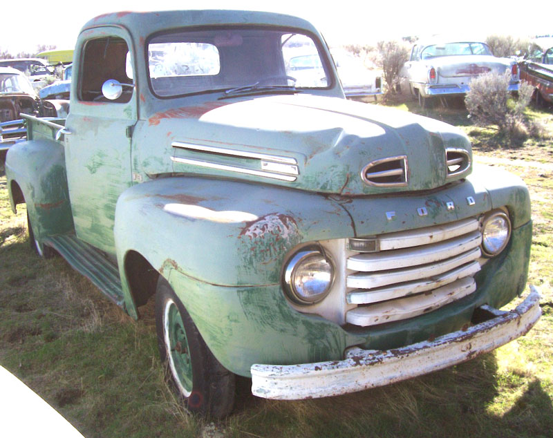 Cheap Tow Truck Near Me >> 1950 Ford F-1 1/2 Ton Pickup Truck For Sale