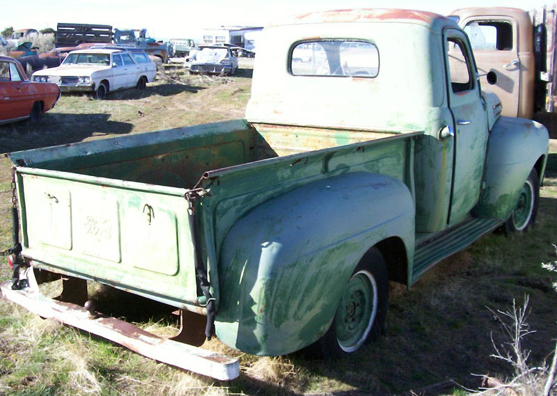 1950 Ford F 1 1 2 Ton Pickup Truck For Sale