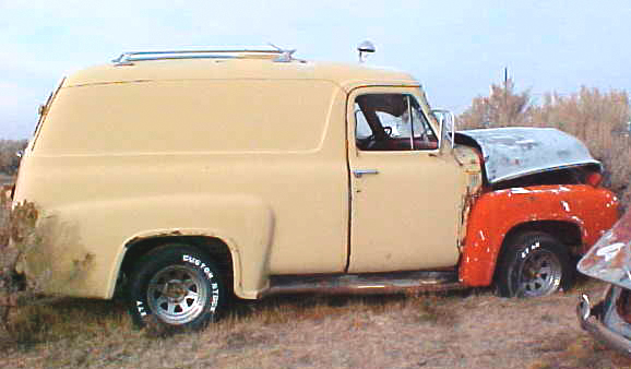 1955 ford f 100 panel delivery truck for sale