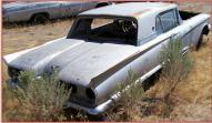 "1958 Ford Thunderbird ""Square Bird"" 2 Door Hardtop For Sale $4,500 right rear view"