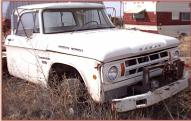 1969 Dodge W100 4X4 Power Wagon truck right front view