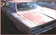 1968 Dodge Coronet R/T 400 2 door hardtop for sale $12,000 left rear view
