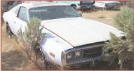 1973 Dodge Charger SE Brougham 2 door hardtop post with 440 COD V-8 right front view
