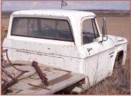 1969 Dodge W100 4X4 Power Wagon truck right rear view