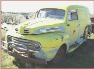 1949 Ford F-1 1/2 ton panel delivery truck left front view