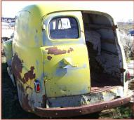 1949 Ford F-1 1/2 ton panel delivery truck left rear view