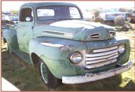 1950 Ford F-1 1/2 ton pickup truck right front view