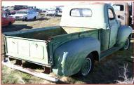 1950 Ford F-1 1/2 ton pickup truck right rear view