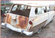 1953 Ford  Mainline Ranch Wagon 2 door station wagon right rear view