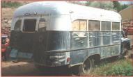 1951 Ford F-5 18 passenger school bus RV conversion right rear view