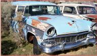 1956 Ford Ranch Wagon 2 door station wagon right front view