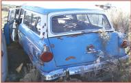 1956 Ford Ranch Wagon 2 door station wagon left rear view