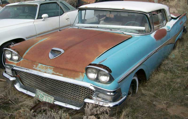 1958 ford retractable for sale