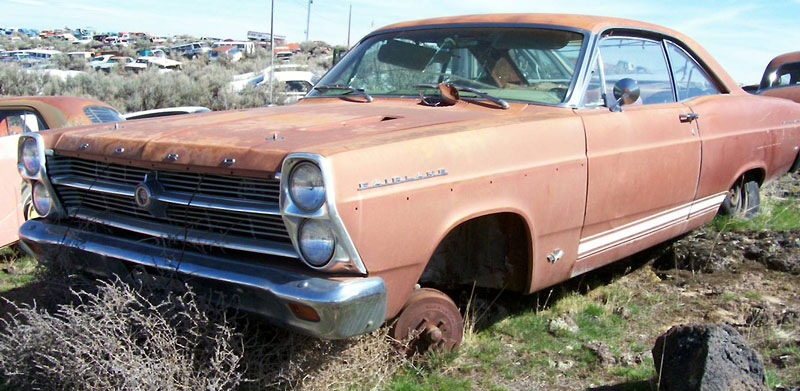 Poor-Man Build - 1966 Ford Fairlane GT - Remaking the - Hemmings ...
