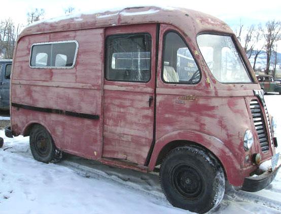 1950 ihc international lm 120 metro van for sale. Black Bedroom Furniture Sets. Home Design Ideas