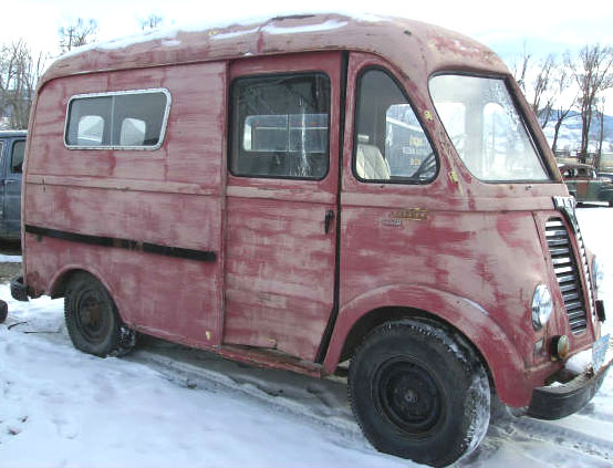 1950 IHC International LM-120 Metro Van For Sale