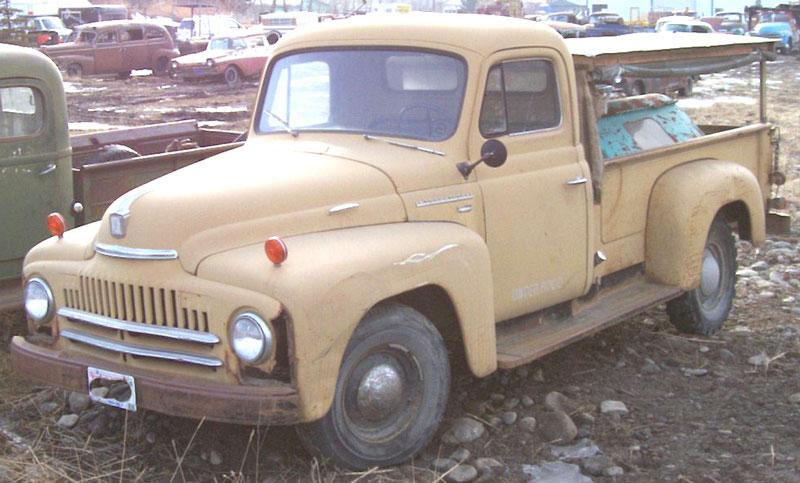 1951 IHC International L110 1/2 Ton Pickup Truck For Sale