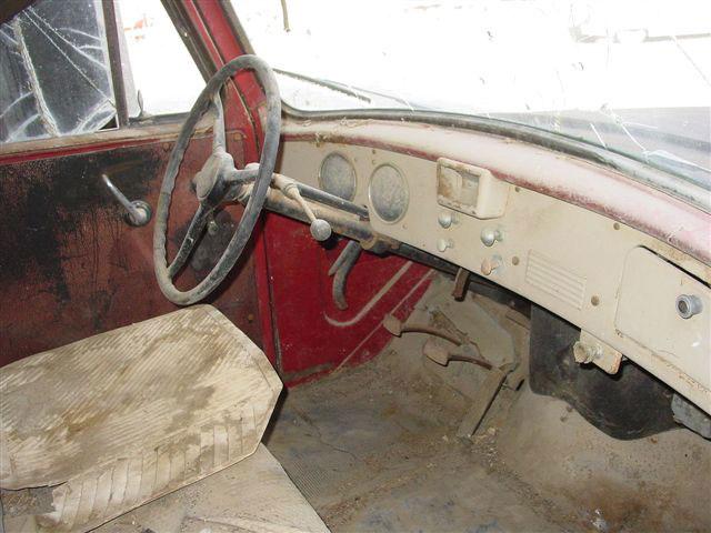 International Pickup Trucks Interior