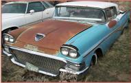 1958 Ford Fairlane 500 Skyliner Retractable Hardtop Convertible For Sale $12,000 front left view