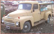 1951 IHC International Series L-110 1/2 ton pickup left front view