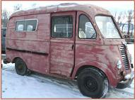 1950 IHC International LM-120 Metro delivery van right front view