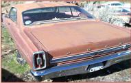 1966 Ford Fairlane GT 390 2 door hardtop left rear view