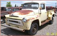 1956 IHC Series S-100 1/2 Ton 4X4 Pickup Truck left front view