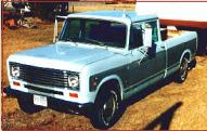 1974 IHC International Series 200 3/4 Ton Crew Cab left front view for sale $7,000